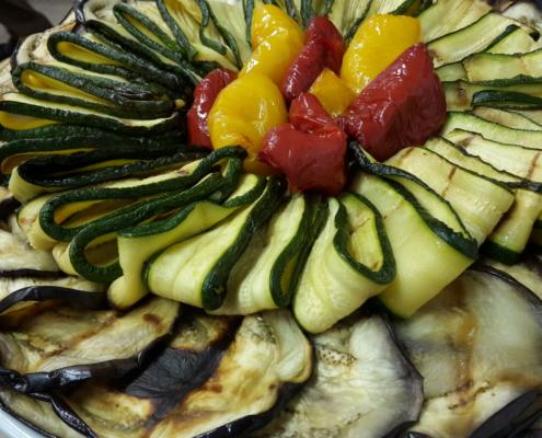 Verdure Grigliate Gastronomia Dal Ponte