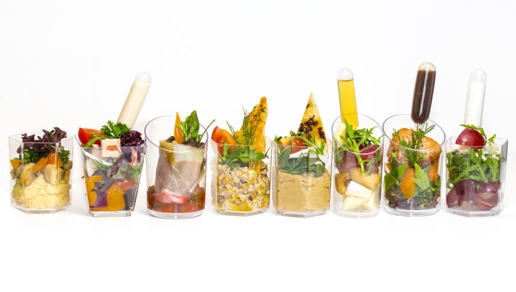 Mini Antipasti per Catering Vicenza Gastronomia Dal Ponte